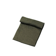 Military Olive Drab Army Wool Scarf - Made in USA View