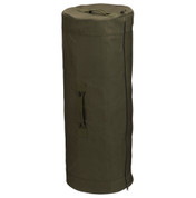 Olive Drab Side Zipper Duffle Bag - Large 24 X 42