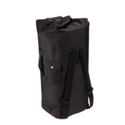 Enhanced Nylon Backpack Duffle Bag - View