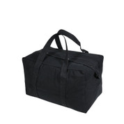 Small Black Parachute Cargo Bag - View