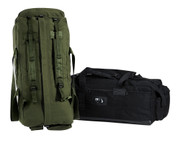 Mossad Tactical Backpack Duffle Bag - Combo View