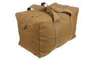 Coyote Brown Canvas Parachute Cargo Bags