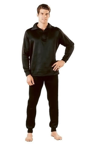 Extreme Cold Weather Polypro Zip Collar Neck Shirts - View