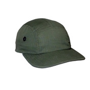 Adventure Olive Street Cap - Ripstop Cotton