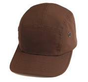 Adventure Brown Street Cap - Ripstop Cotton
