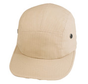 Adventure Khaki Street Cap - Ripstop Cotton