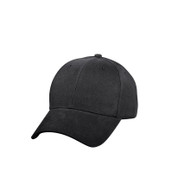 Black Supreme Low Profile Baseball Cap