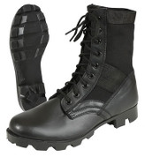 Black Military Style Jungle Boot