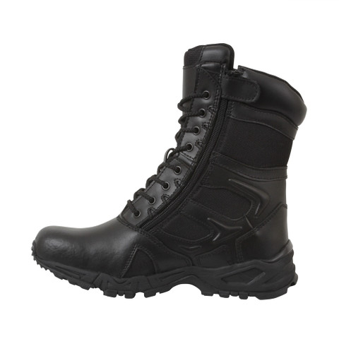 Black Forced Entry Deployment Boot - Side View 2