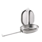 G.I.Type Stainless Steel Mess Kit - View