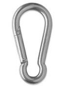 G I Style 60mm Carabiners (4KN Test Strength)