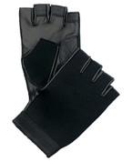 Outdoorsman Black Fingerless Neoprene Gloves