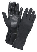 Nomex Type Rothco Flight Glove - Black