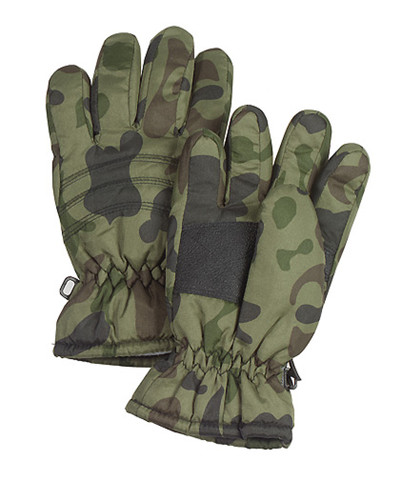 Kids Camo Thermoblock Insulated Gloves - View