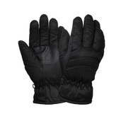 Black Deluxe Thermoblock Insulated Gloves - Pair View