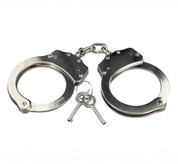 Professional Handcuffs - Nickel Plated Steel