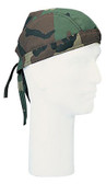 Woodland Camo Head Wraps