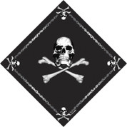Jolly Roger Print Bandana
