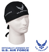 US Air Force Headwrap - Black