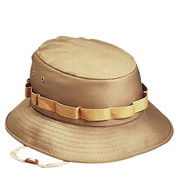 Khaki Jungle Hat - View