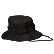 Black Jungle Hat - View