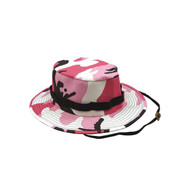 Pink Camo Jungle Hat - View