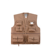 Kids Khaki Safari Camp Vest - View