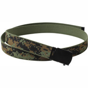 Kids Woodland Digital Camo Web Belt - Full View