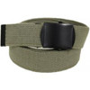 Kids Army Foliage Green Web Belts - View