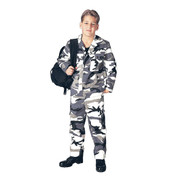 Kids Urban Camo Pants - View
