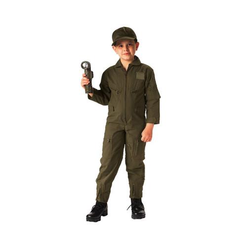 Kids Army Flight Suit - View