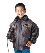 Kids B-15 Bomber Flight Jacket - View