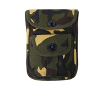 Kids Camo Army Gear 2 Pocket Pouch - Front View