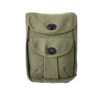 Kids Army Gear 2 Pocket Pouches - Front View