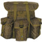 Kids Army Gear Backpack - Front View