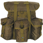 Kids Army Gear Backpack - Olive Drab Nylon