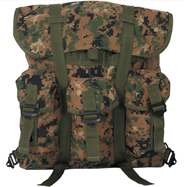 Kids Marines Gear Digital Camo Backpack - Image View