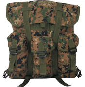 Kids Marines Gear Digital Camo Backpack