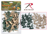 Toy Army Men - 40Pc Set Per Bag