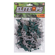 Toy Army Men 40 Piece Set Per Bag - Package View