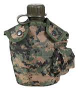 Kids Camo Woodland Digital Canteen Combo Kit - View