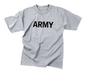 Kids Army Physical Training T Shirt - View