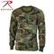 Rothco Kids Army Camo Long Sleeve T Shirt -  View