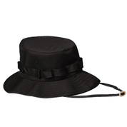 Kids Swat Black Jungle Hat - View