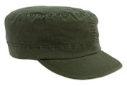 Vintage Kids Army Fatigue Cap - View