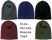 Kids Outdoor Deluxe Skull Caps - View
