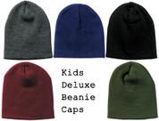 Kids Outdoor Deluxe Skull Caps - View