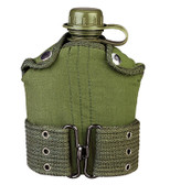 Kids Army Canteen/Pistol Belt Kit Combo