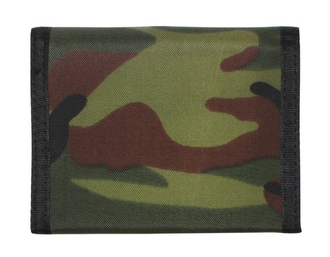 Kids Camo Wallet - Woodland Camo - View