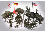 Kids Army Combat Soldier Play Set - Close Up View